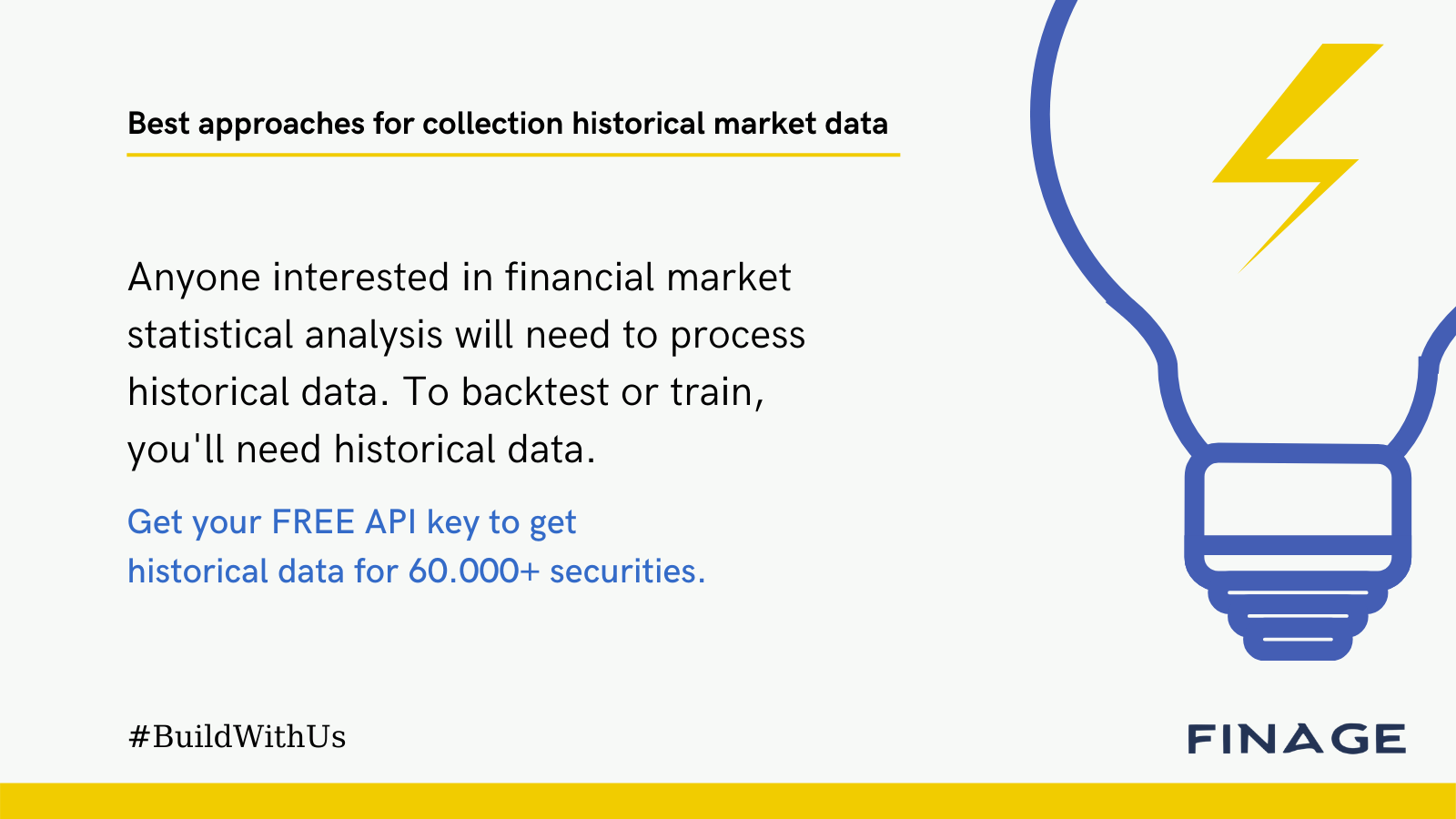Best approaches for collection historical market data